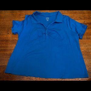 Lane Bryant blue Polo 26/28